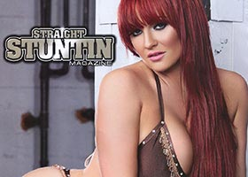 Amber Priddy @amberpriddy in Straight Stuntin Issue #32