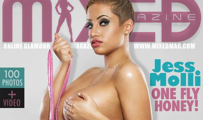 Jess Molli @jessmolli in Mixed Magazine