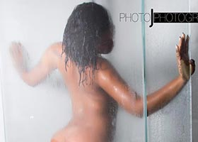 Taylor Hing @ChineseKitty_ – Shower Fresh After Dark – Photo J
