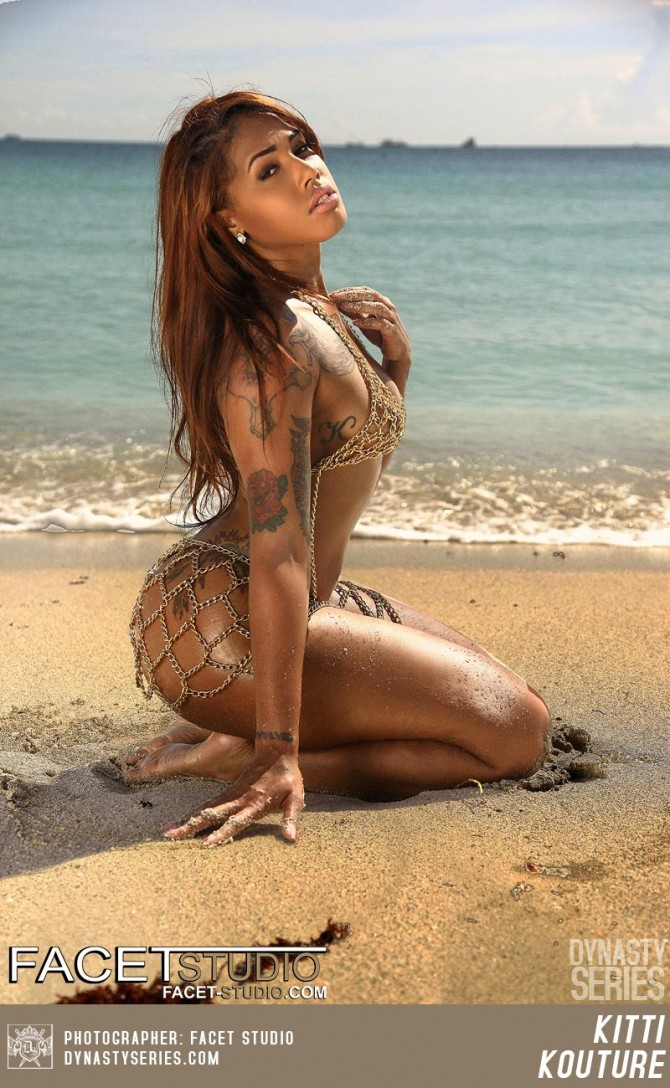 Kitti Kouture @TheKittiKouture: Beachside – Facet Studio