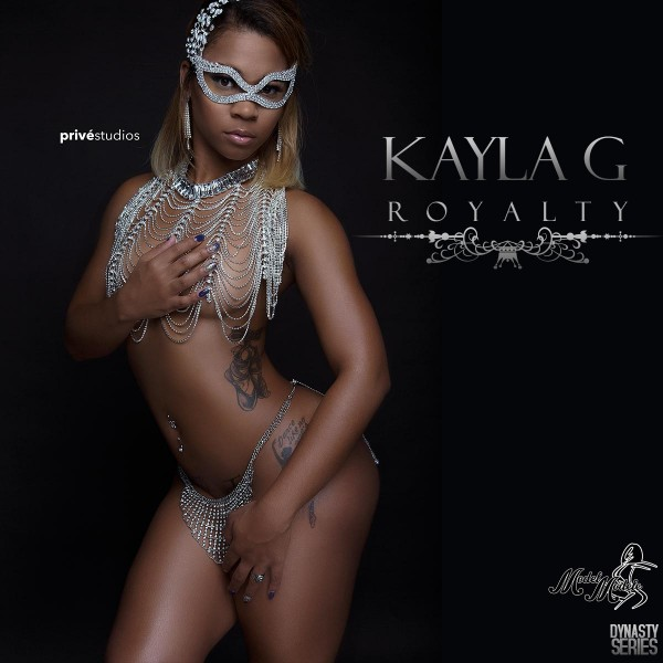 Kayla G @KaylaG_: Royalty - Prive Studios and Model Modele