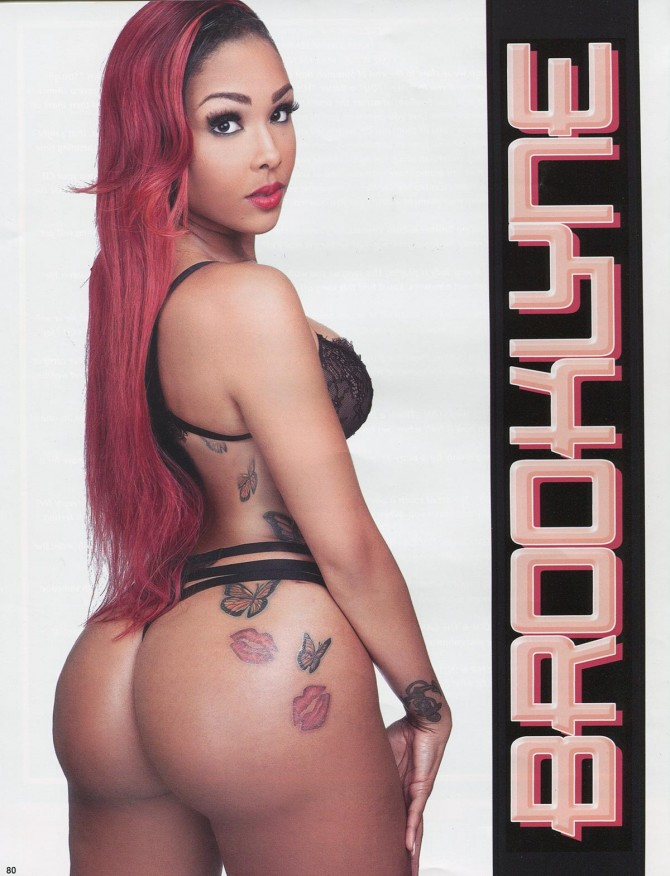 Brooklyne in Straight Stuntin Issue 34