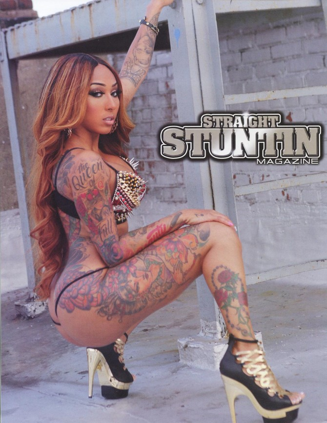 Wankaego @iamwankaego in Straight Stuntin Issue 34