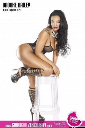 Brooke Bailey @brookebailey in SHOW Magazine