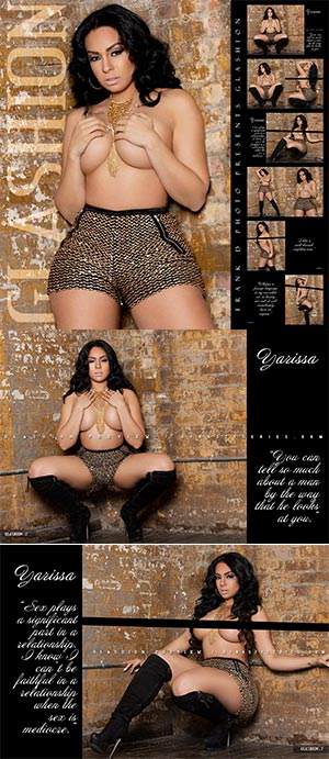 Yarissa G @yarissa_g: Glashion Magazine Previews Part 1 – Frank D Photo
