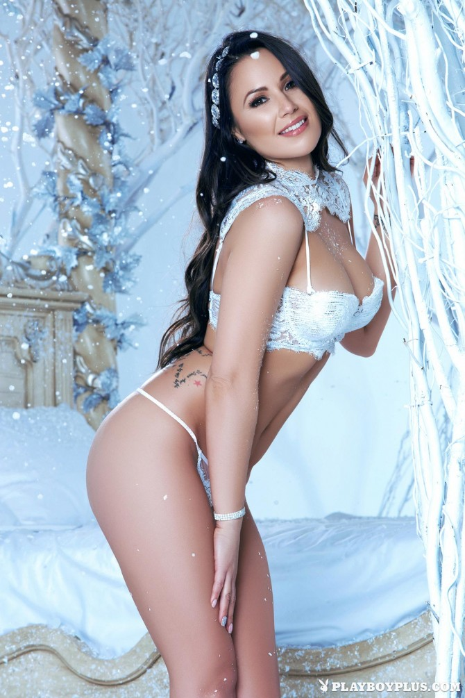 Candace Leilani in Winter Queen – Playboy
