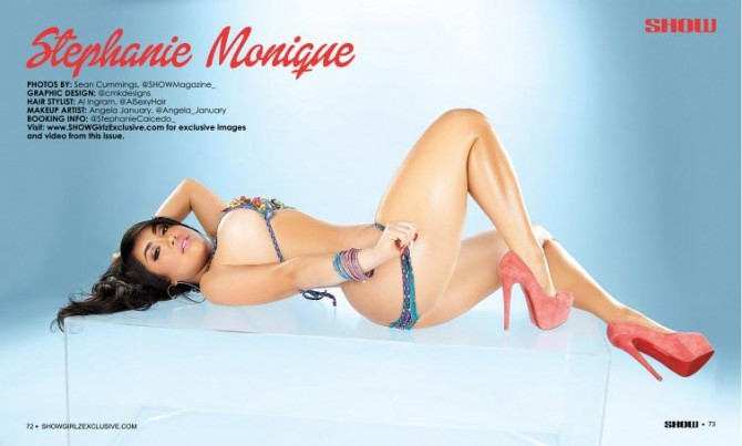 Stephanie Monique @StephanieCaicedo_  in SHOW Magazine #28