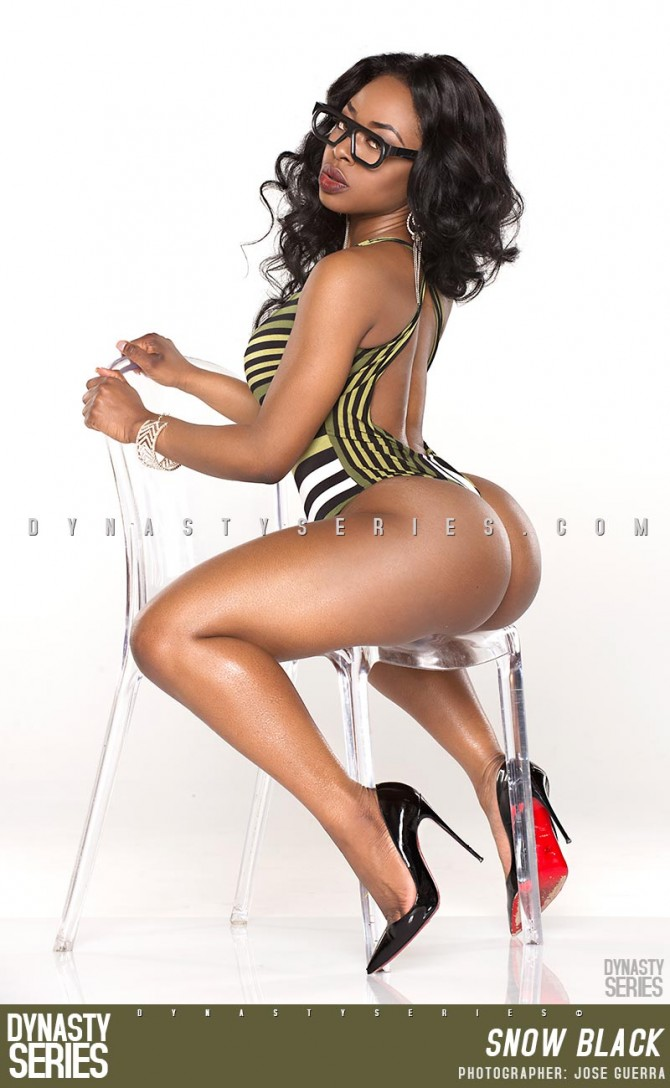 Snow Black @iam_snowblack: More of Thicke Frame – Jose Guerra