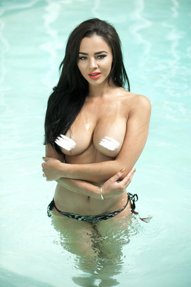 Courtnie Quinlan @CourtnieQ: Take A Dip – Page3