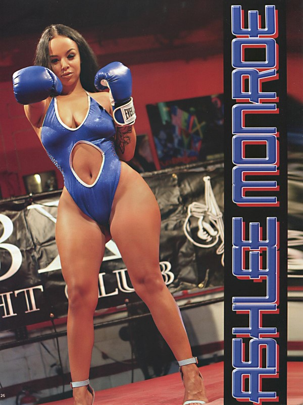 Ashlee Monroe @iamashleemonroe in Straight Stuntin Issue #39