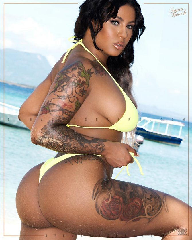 Tatted Ray @tattedray: More of Shores of Paradise x Sosua Beach – Jose Guerra