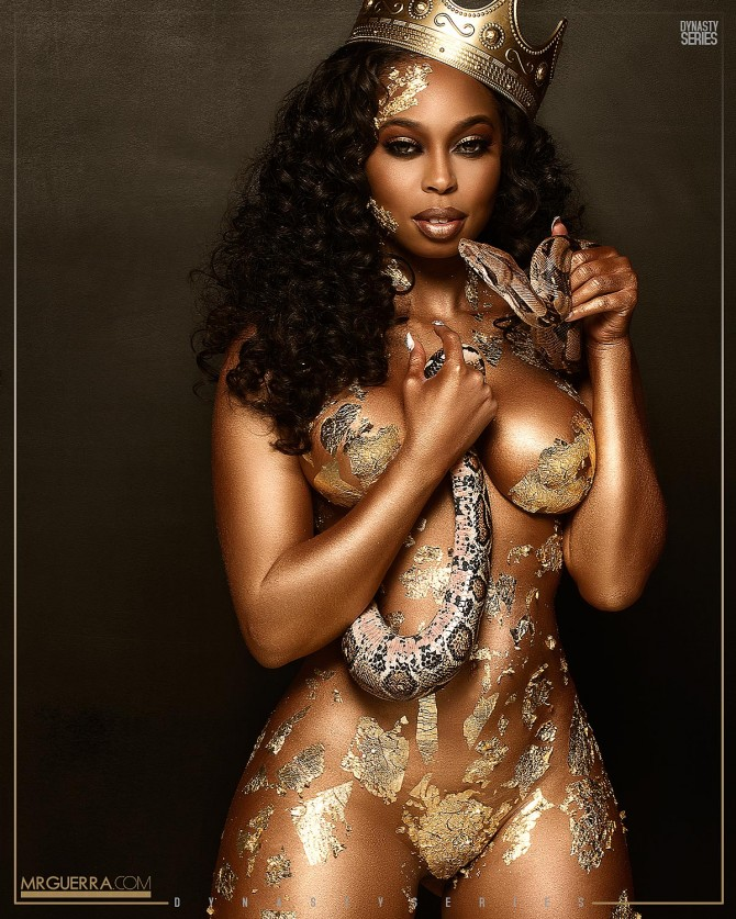 Aggie @aggie_not_aggy: Golden Serpent – Jose Guerra
