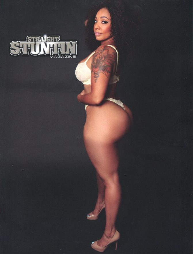 Chela @chelas_way in Straight Stuntin Issue #40