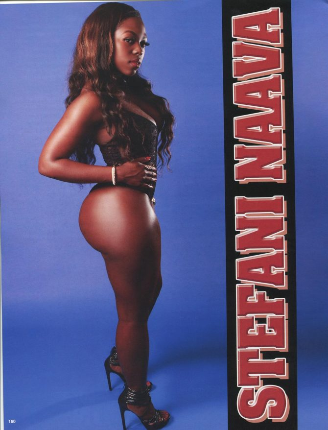 Stefani Naava in Straight Stuntin Issue #40