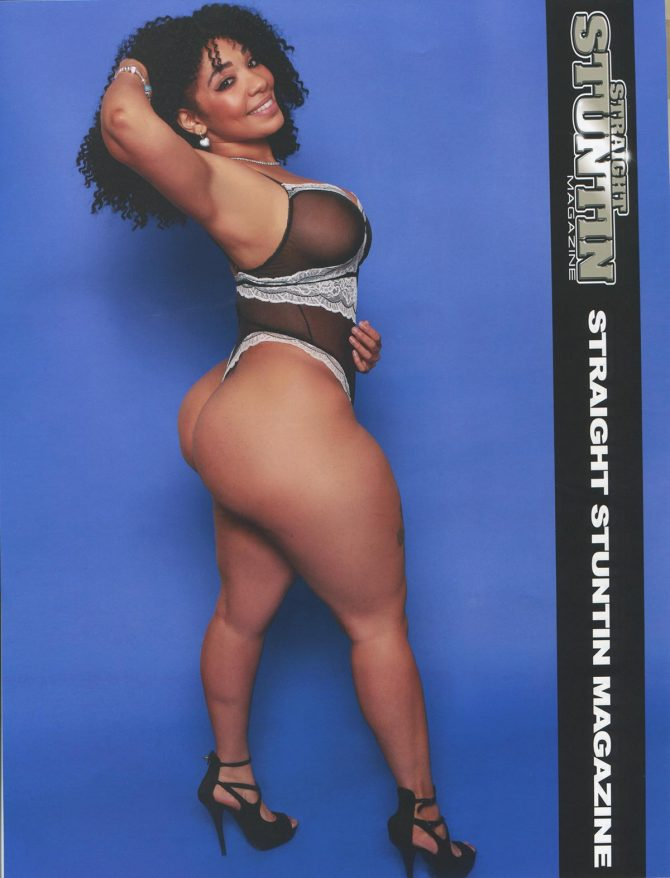 Chela @chelas_way in Straight Stuntin Issue #41