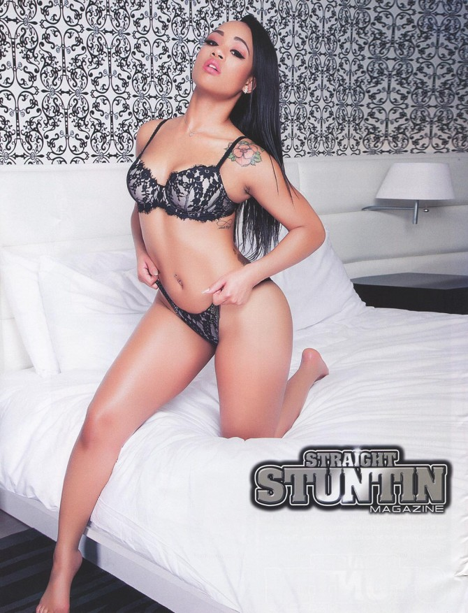 Flawless Beauty in Straight Stuntin Issue #41