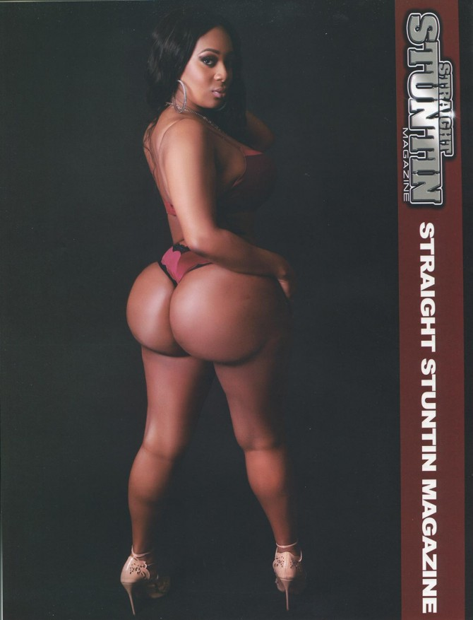 Kira Queens in Straight Stuntin Issue #41