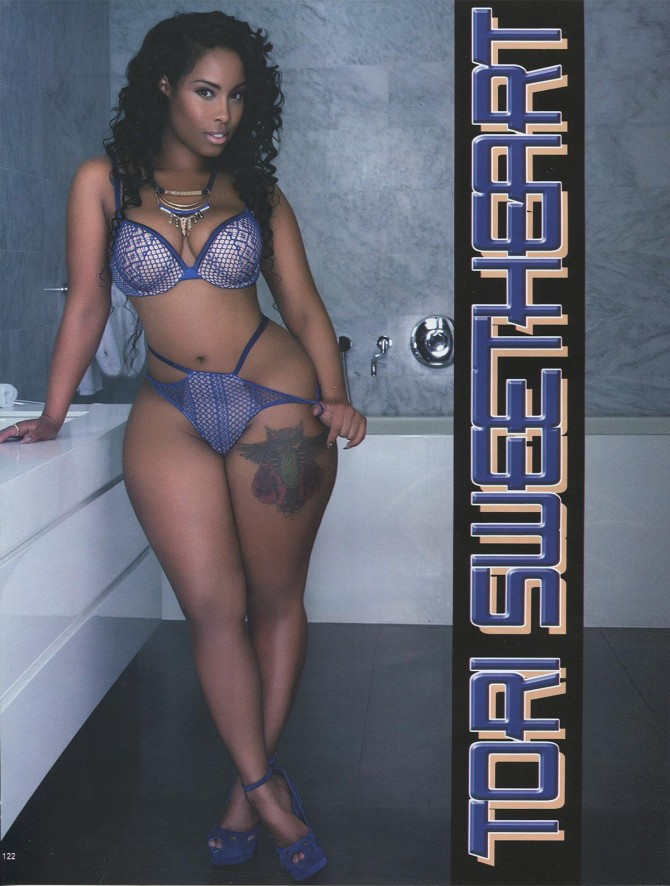 Tori Sweetheart in Straight Stuntin Issue #42