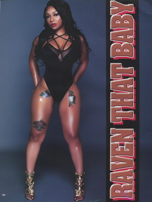 Raven the Baby in Straight Stuntin Issue #43