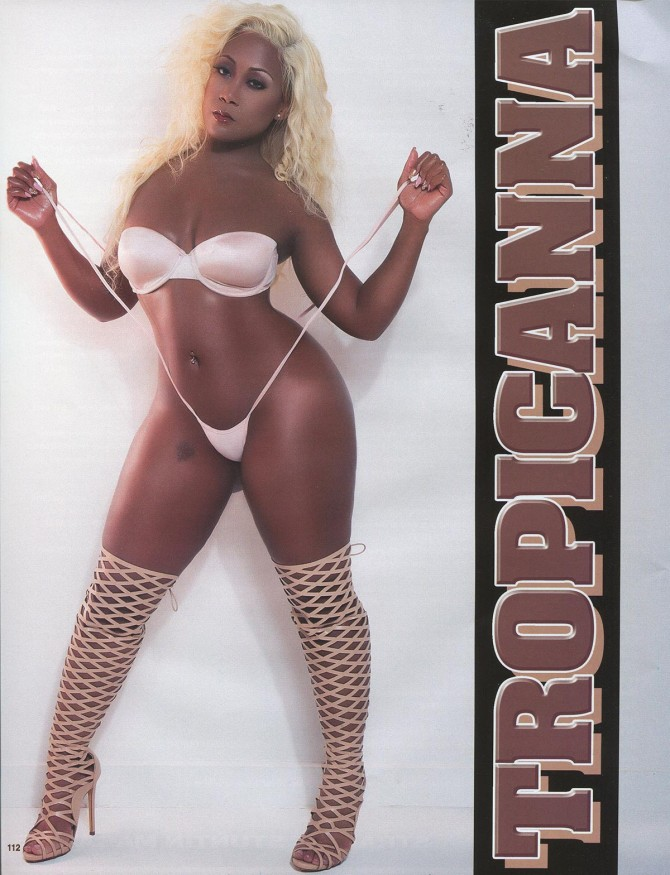 Tropicana in Straight Stuntin Issue #43