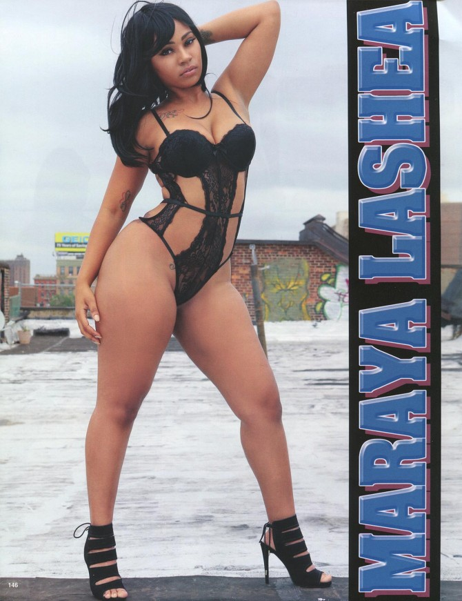 Maraya Lashea in Straight Stuntin Issue #43