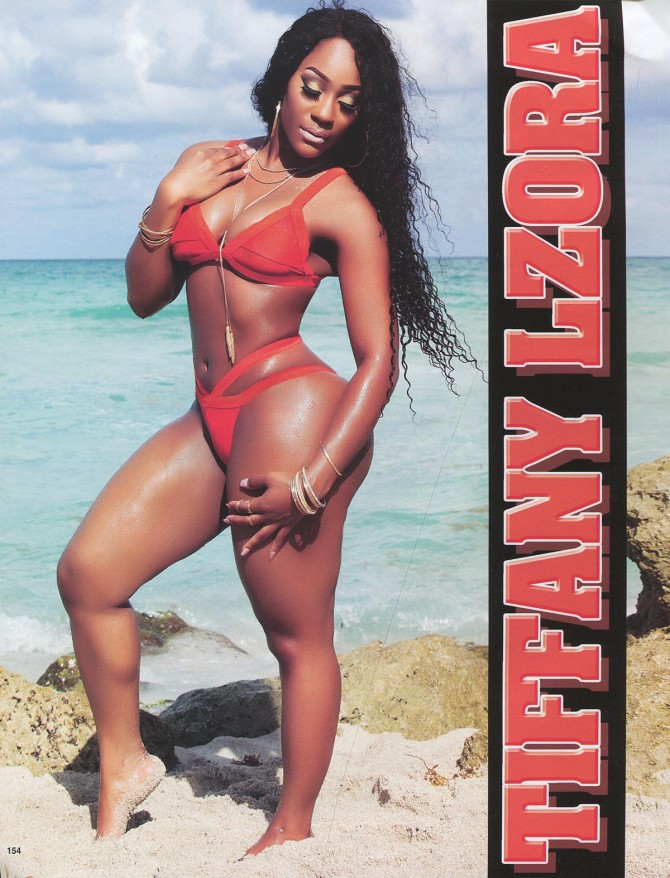 Tiffany Lzora in Straight Stuntin Issue #43