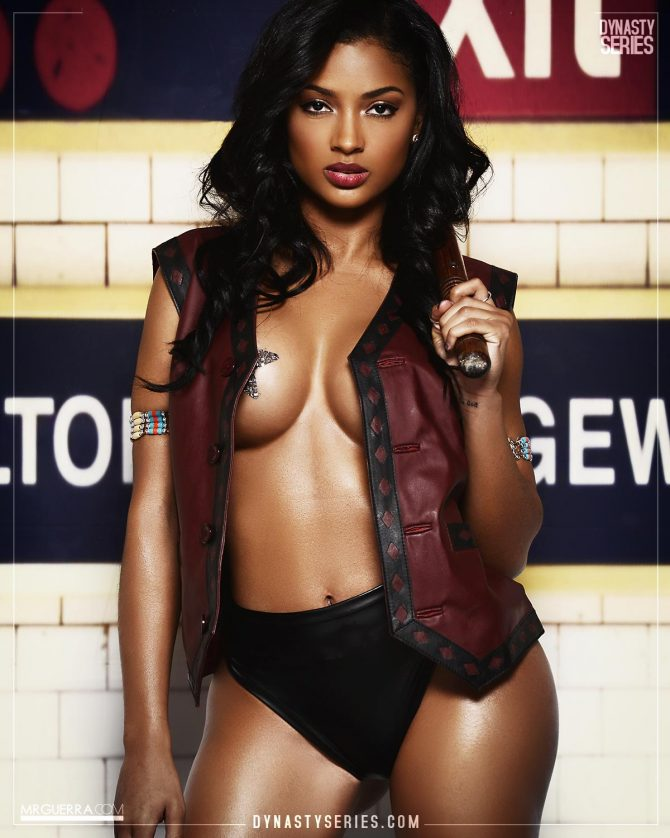 Marilyn Melo: The Warriors – Jose Guerra x Artistic Curves