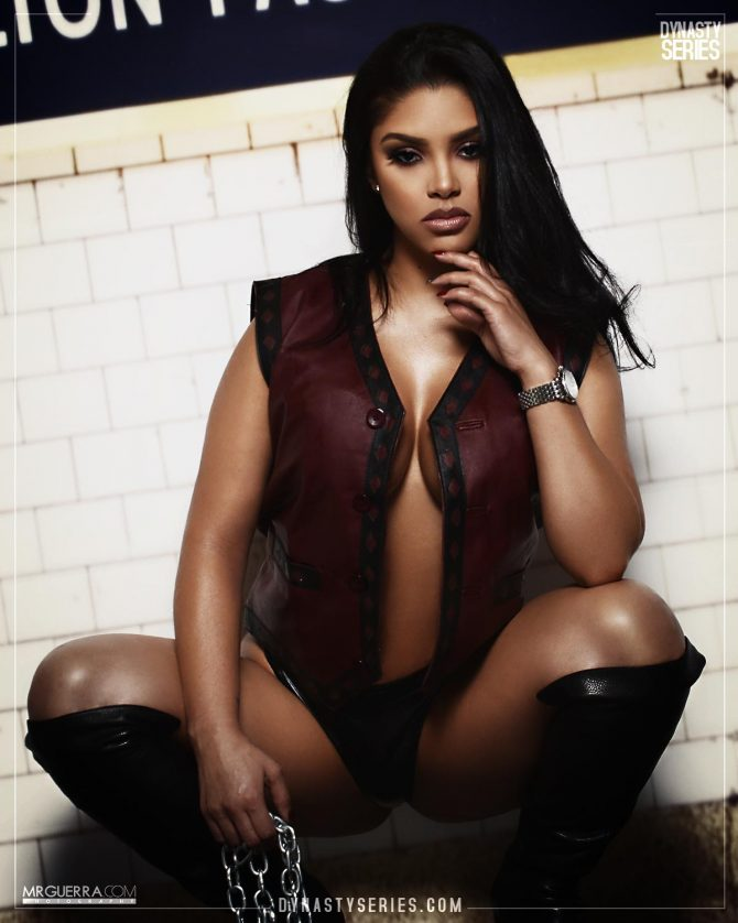 NatalieMC: The Warriors – Jose Guerra x Artistic Curves