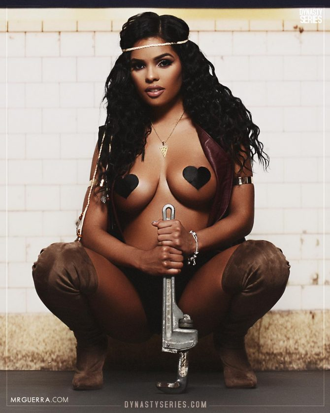 Leezah: The Warriors Part Duex – Jose Guerra x Artistic Curves