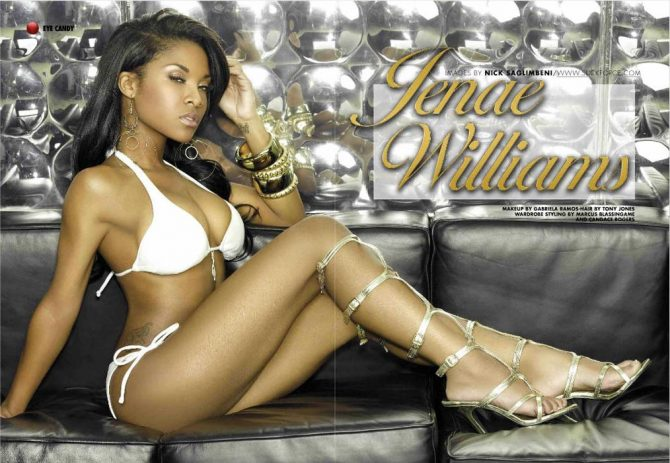 Jenae Williams in Blackmen Magazine
