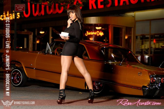 Rosa Acosta Live at Junior's in Brooklyn – courtesy of IEC Studios