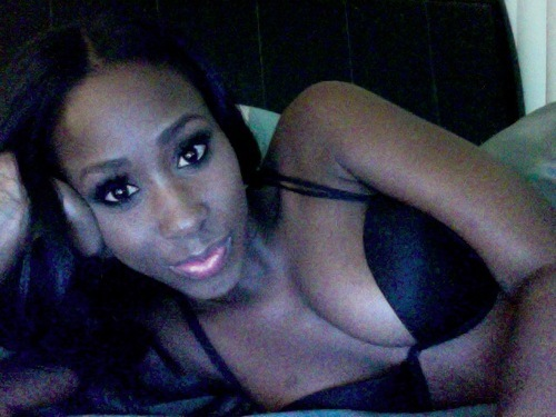 Bria Myles: Little Black Dress + Video Shoot BTS