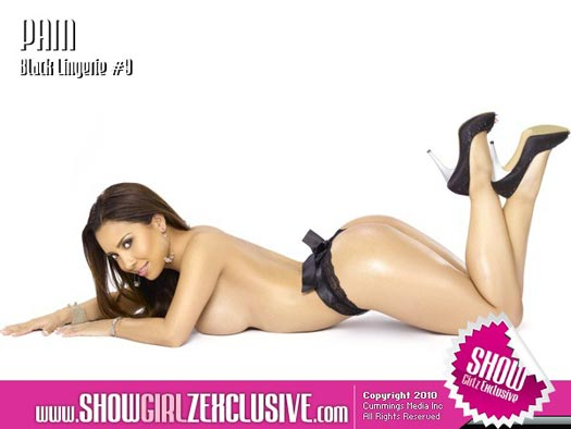 Pam Rodriguez from Black Lingerie on ShowGirlzExclusive.com