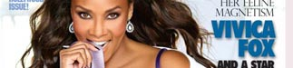 Vivica Fox on the cover of the Hollywood Issue of Blackmen Magazine