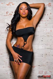 Pic of the Day: Sheneka Adams – courtesy of Visual Cocktail