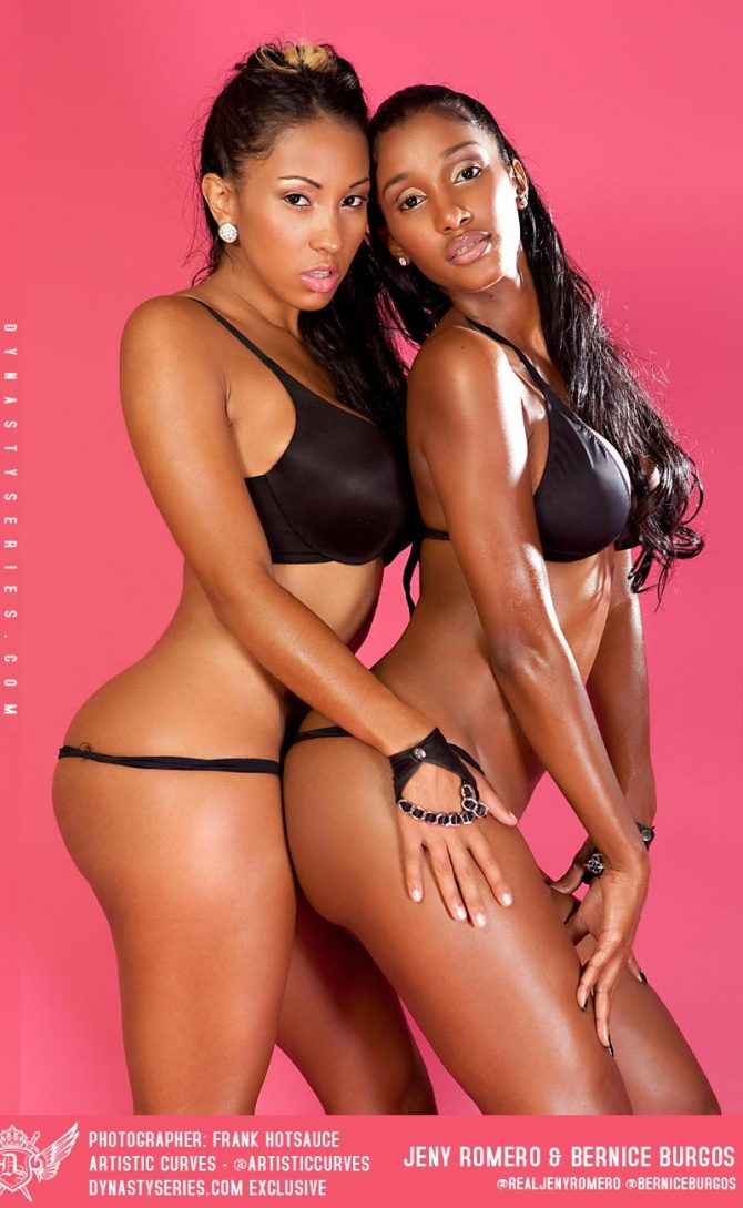 More of Jeny Romero and Bernice Burgos – courtesy of Frank Hotsauce and Artistic Curves