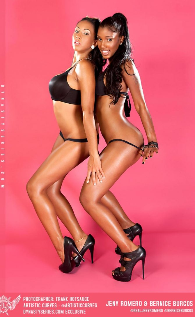 Jeny Romero and Bernice Burgos: Finale – courtesy of Frank Hotsauce and Artistic Curves