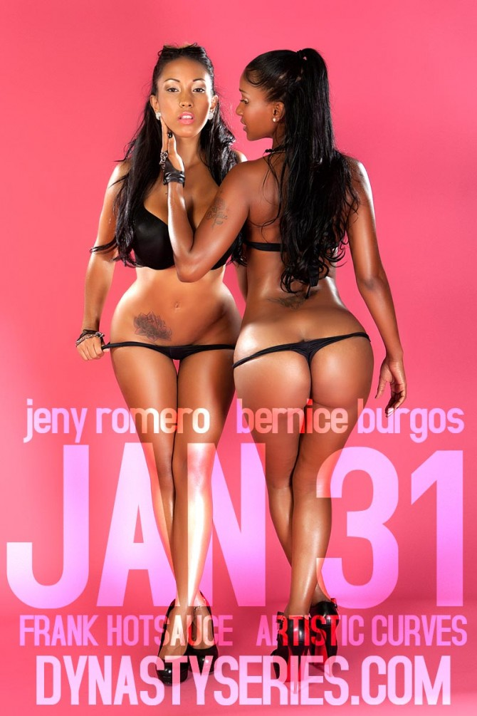 Coming Jan 31st – Jeny Romero and Bernice Burgos – courtesy of Frank Hotsauce