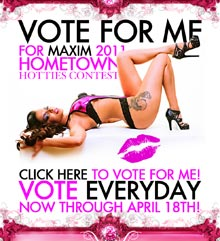 Pic of the Day: Vote for Tehmeena for Maxim Hometown Hotties