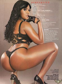 Pic of the Day: Mesha Seville in Blackmen 40 on 40