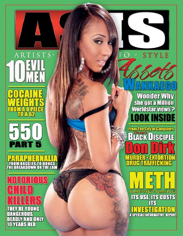 AsIs Magazine cover featuring Wankaego courtesy of: Shabazz