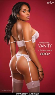 Spicy Magazine Preview: Vanity