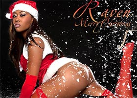 DynastySeries Christmas – More Pics of Raven Athena: Mrs. Claus – courtesy of Frank D Photo