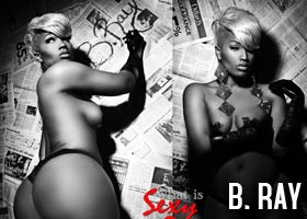 Introducing…B. Ray the Panamanian Princess – courtesy of D. Brown