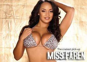 Miss Faren in the latest issue of Dynasty Magazine – courtesy of Skorpion Entertainment