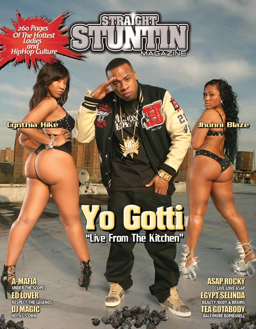 Karina Lopez in the latest issue of Straight Stuntin – courtesy of Frank D Photo