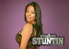 Stephany Romero Preview from new issue of Straight Stuntin