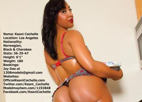Keani Cochelle's in latest issue of Stunnaz Magazine