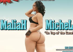 Maliah Michel on the cover of Straigh Stuntin: Behind the Scenes Video