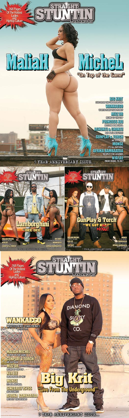 Tamika Carter @MsTamikaCarter in latest issue of Straight Stuntin – TL Glam Studio